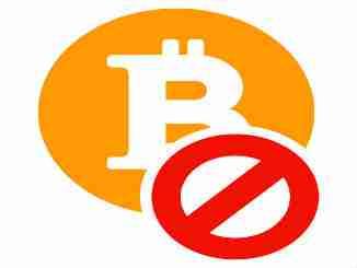 Bitcoin banned