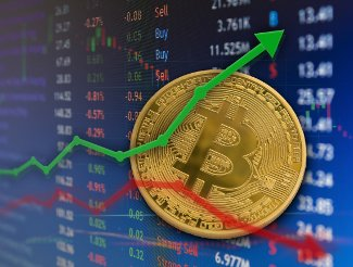 The Bitcoin price is rising