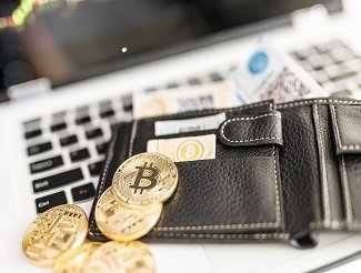 Wallet with Bitcoin tokens