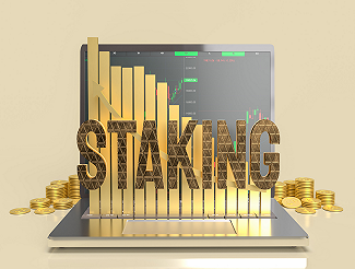 Staking Crypto Graph